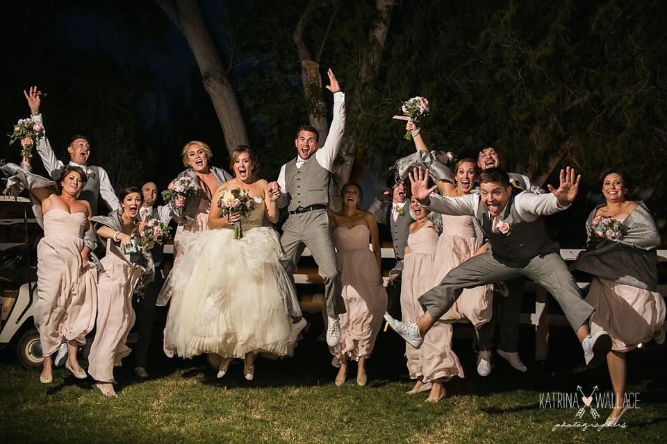 bridal party photos