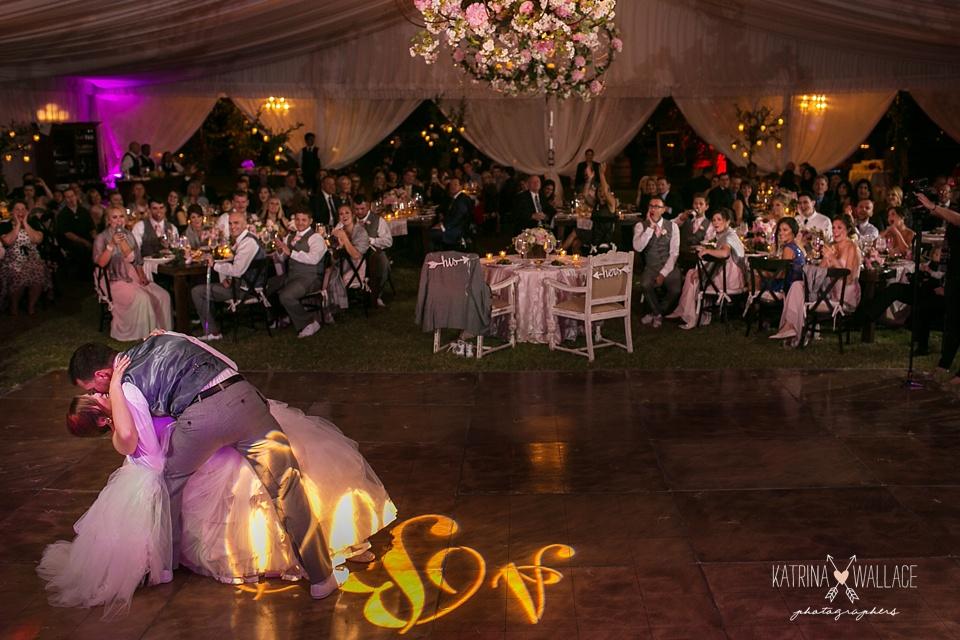first dance at a Dancing Apache wedding reception