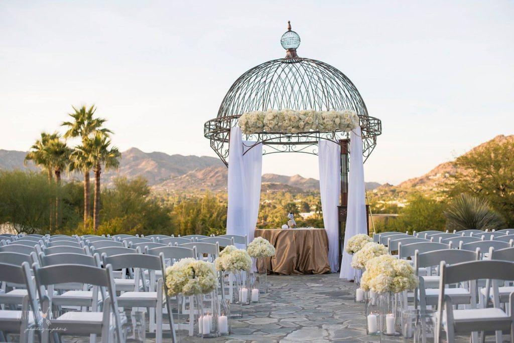 Sanctuary Jewish wedding ceremony chuppah Katrina and Andrew Photography