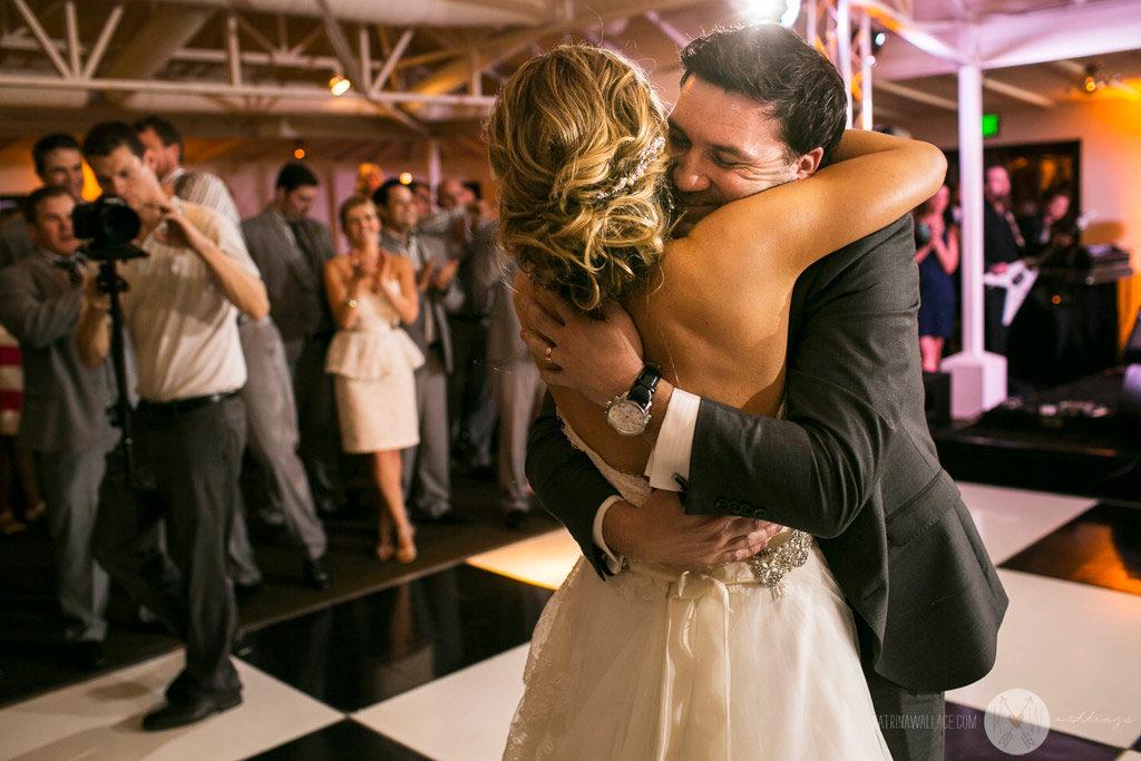 El Chorro wedding Kati + Alex first dance