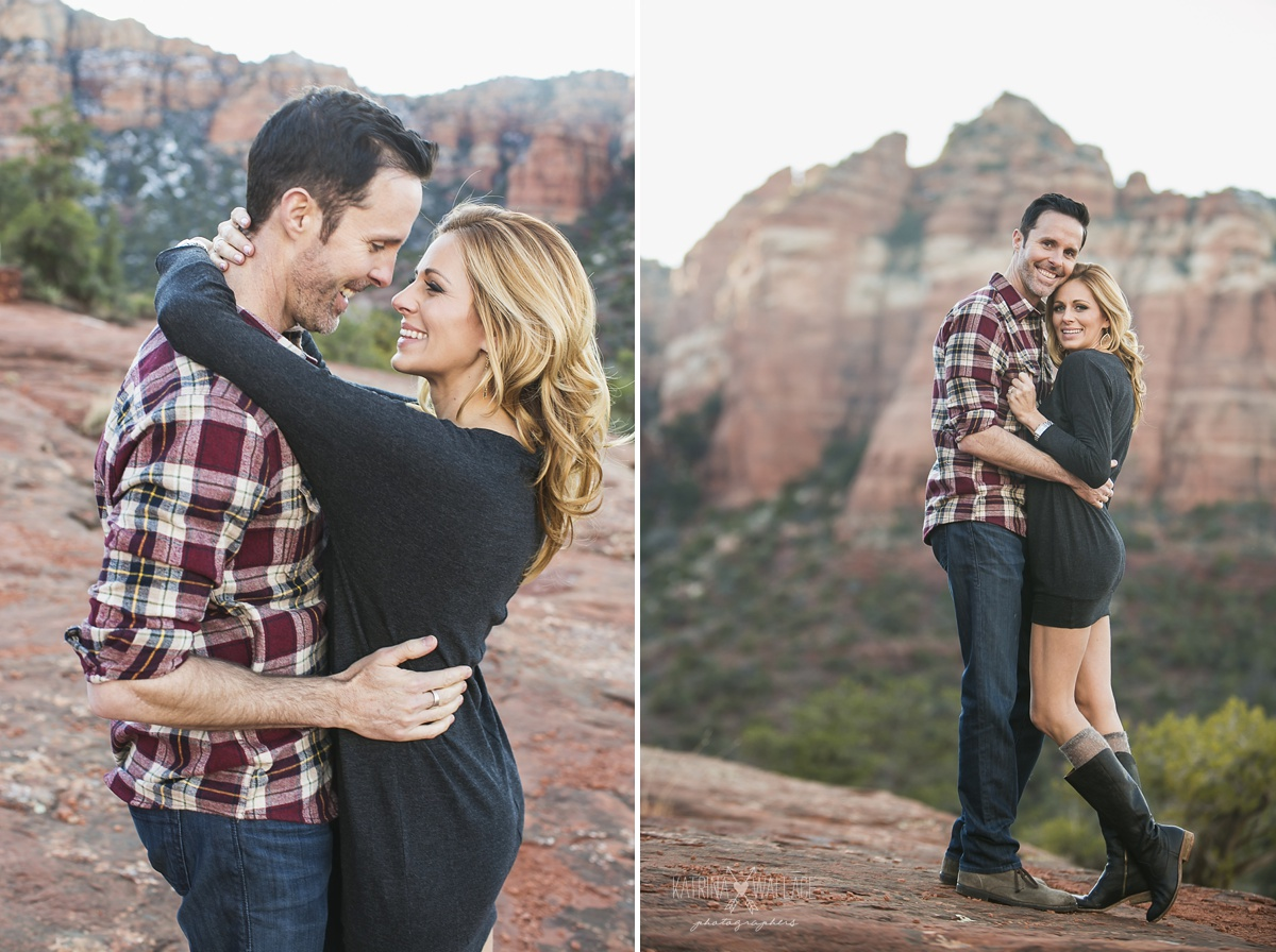 Sedona engagement session